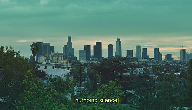 Numbing silence