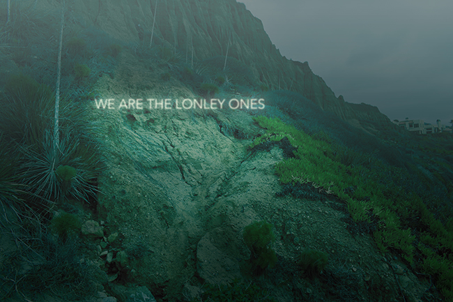 We are the lonley ones