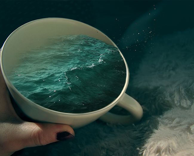 NOT MY CUP OF SEA